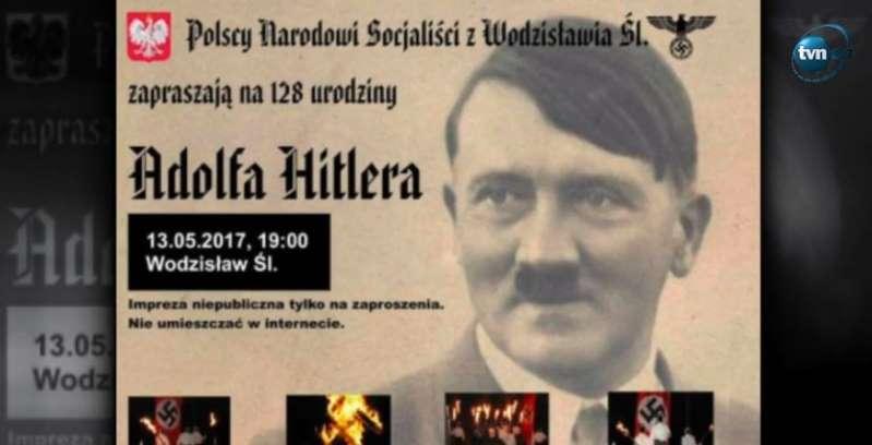 """""""Urodziny Hitlera"""". Wyciekły szokujące zdjęcia dziennikarza TVN!"""
