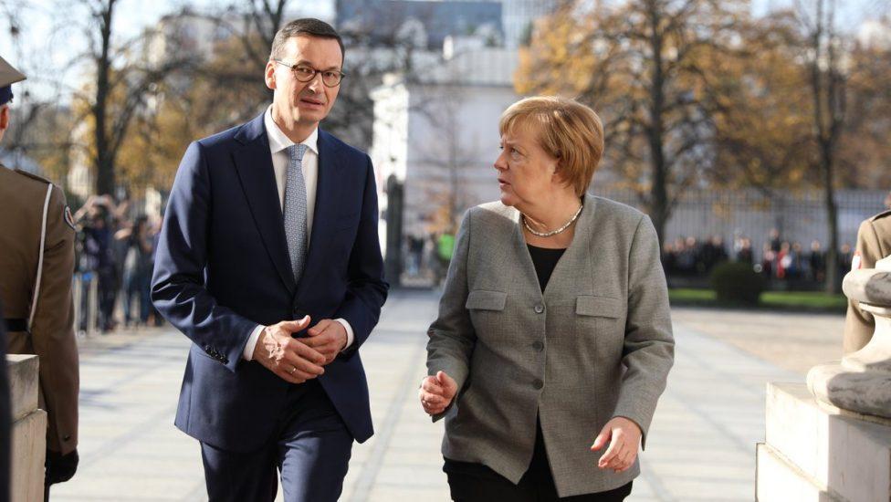 Angela Merkel przyjechała do Warszawy