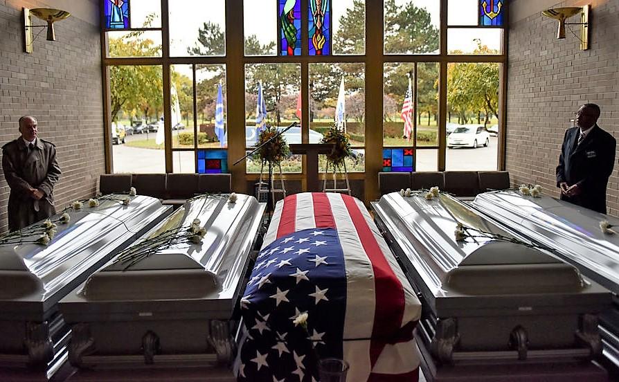 W Detroit miał miejsce pogrzeb ok. 300 osób, których szczątki znaleziono w domu pogrzebowym