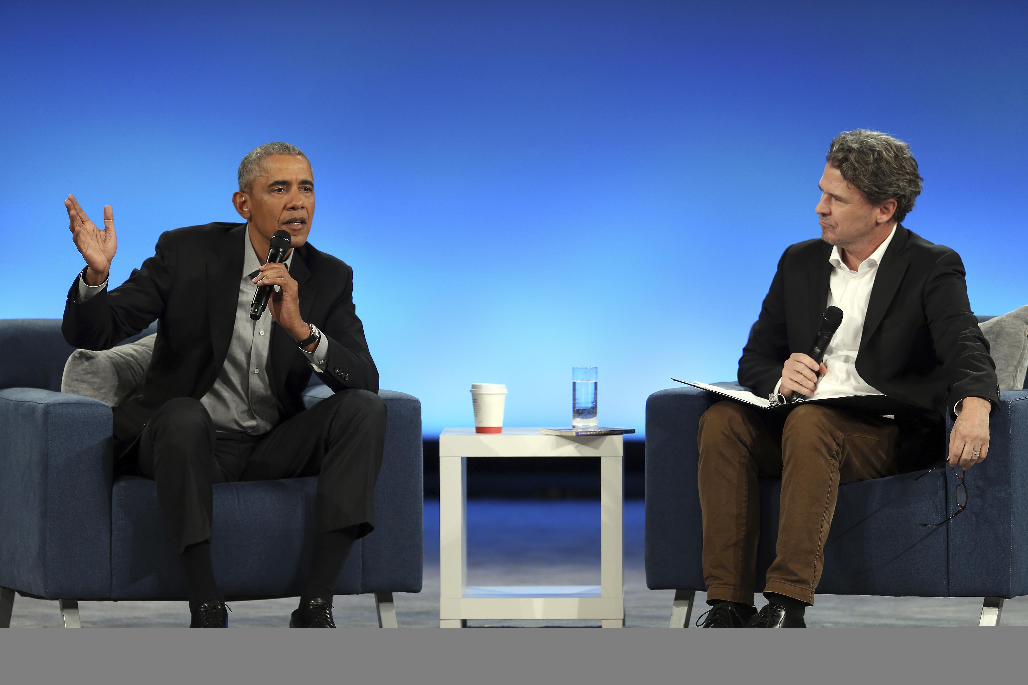 Barack Obama zaapelował o cierpliwość podczas dorocznego szczytu swojej fundacji