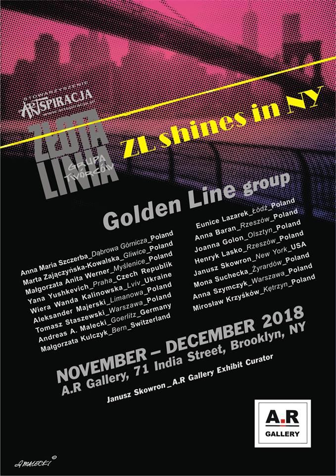 Grupa Twórców Złota Linia w Nowym Jorku
