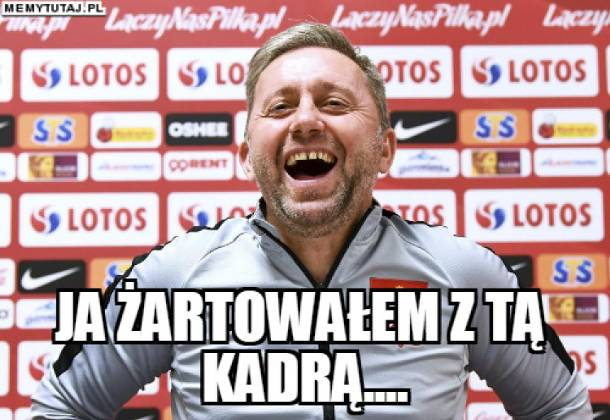 Polska – Czechy. MEMY po meczu. Nasza kadra znów przegrała, a selekcjoner Brzęczek… czeka na pierwsze zwycięstwo