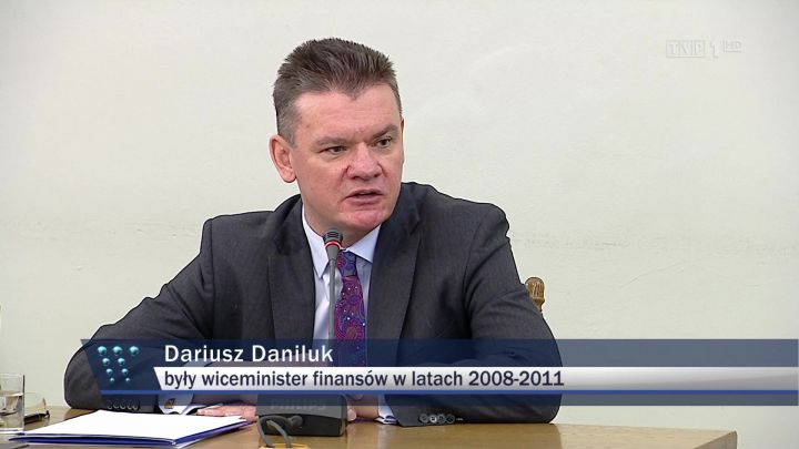 Komisja ds. podatku VAT przesłuchała Dariusza Daniluka. Luka podatkowa? W rządzie Tuska o tym nie dyskutowano…