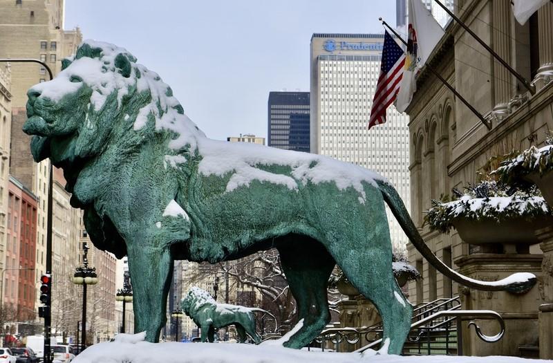 Synoptycy zapowiadają opady śniegu w Chicago