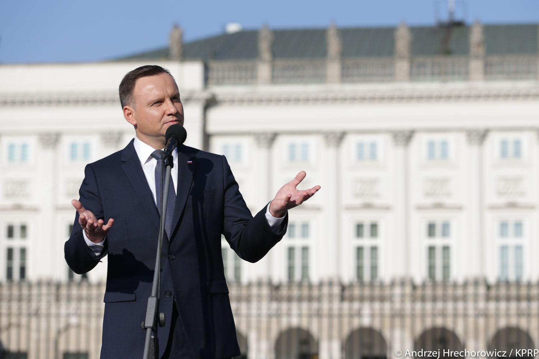 Prezydent: Kampania przed wyborami parlamentarnymi powinna być jak najkrótsza, stąd data 13 października