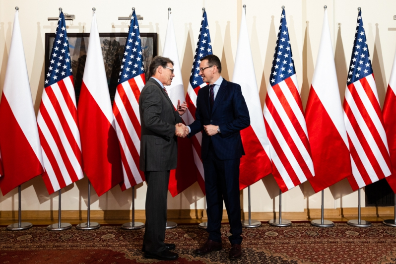 Polska i USA deklarują stały dialog na temat energetyki