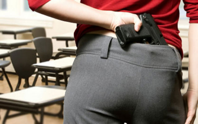 Uzbrojeni nauczyciele na Florydzie
