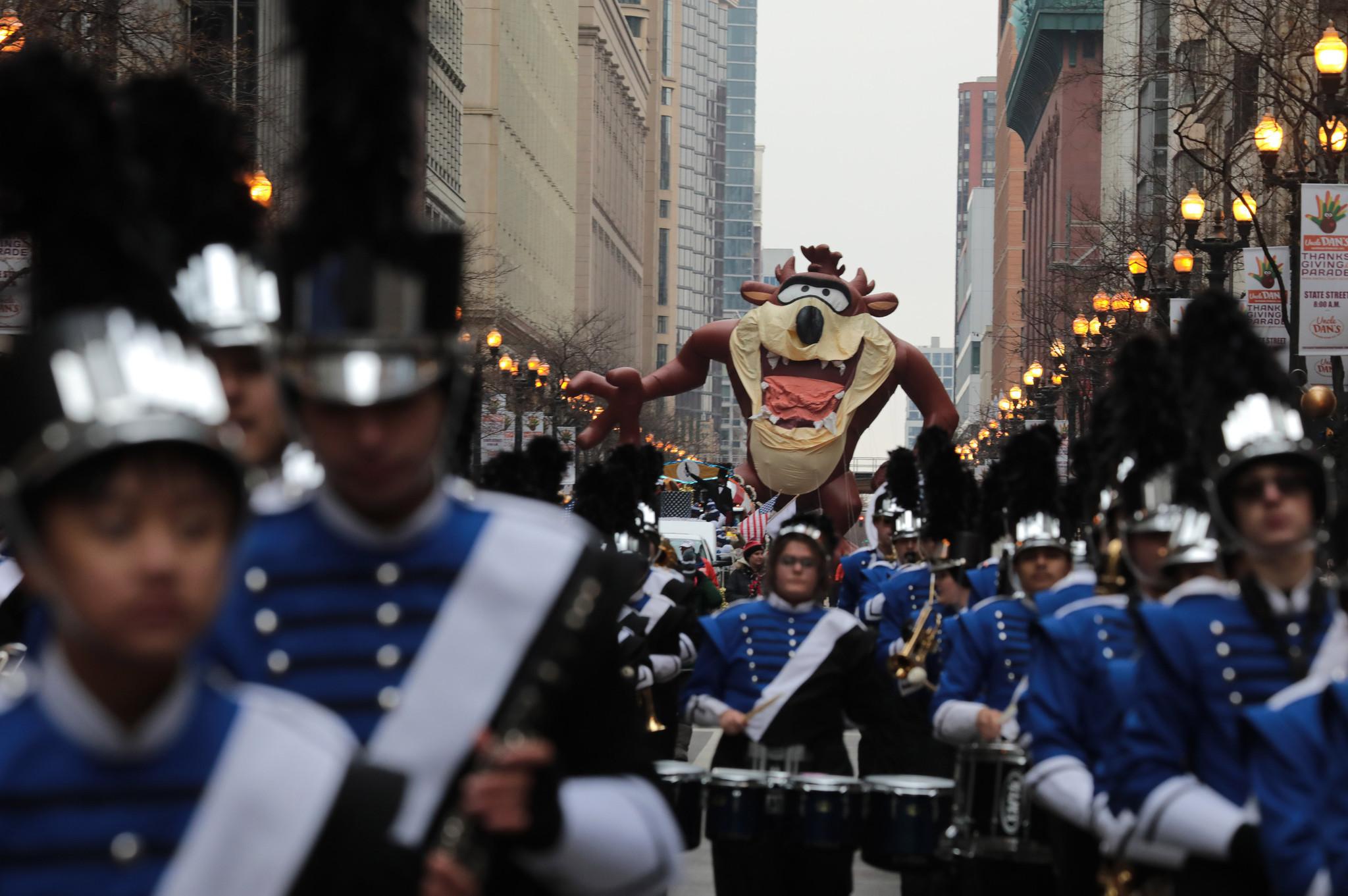 Ulicami Chicago przeszła Uncle Dan's Thanksgiving Parade