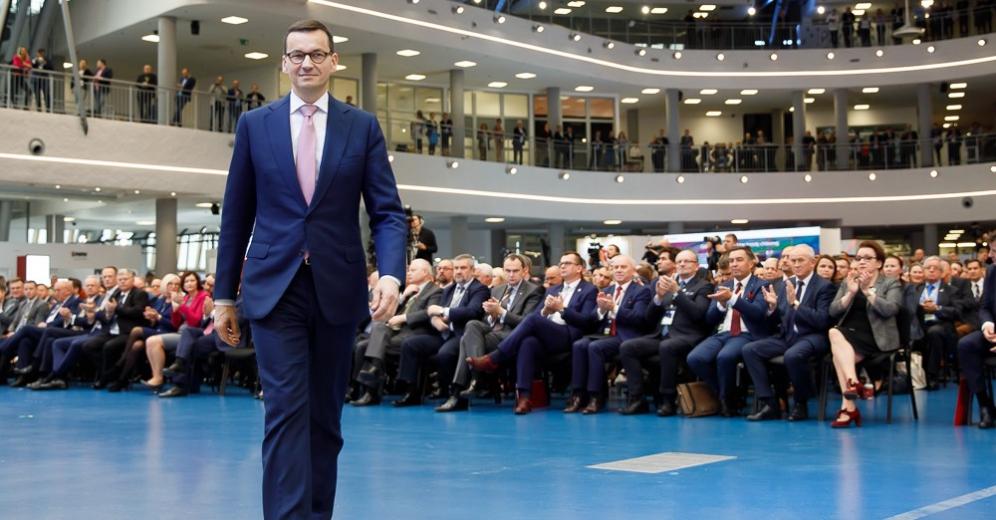 """Premier Morawiecki na Kongresie 590: """"My uwolniliśmy potencjał polskiej gospodarki. Najszybszy wzrost gospodarczy w Unii Europejskiej!"""""""