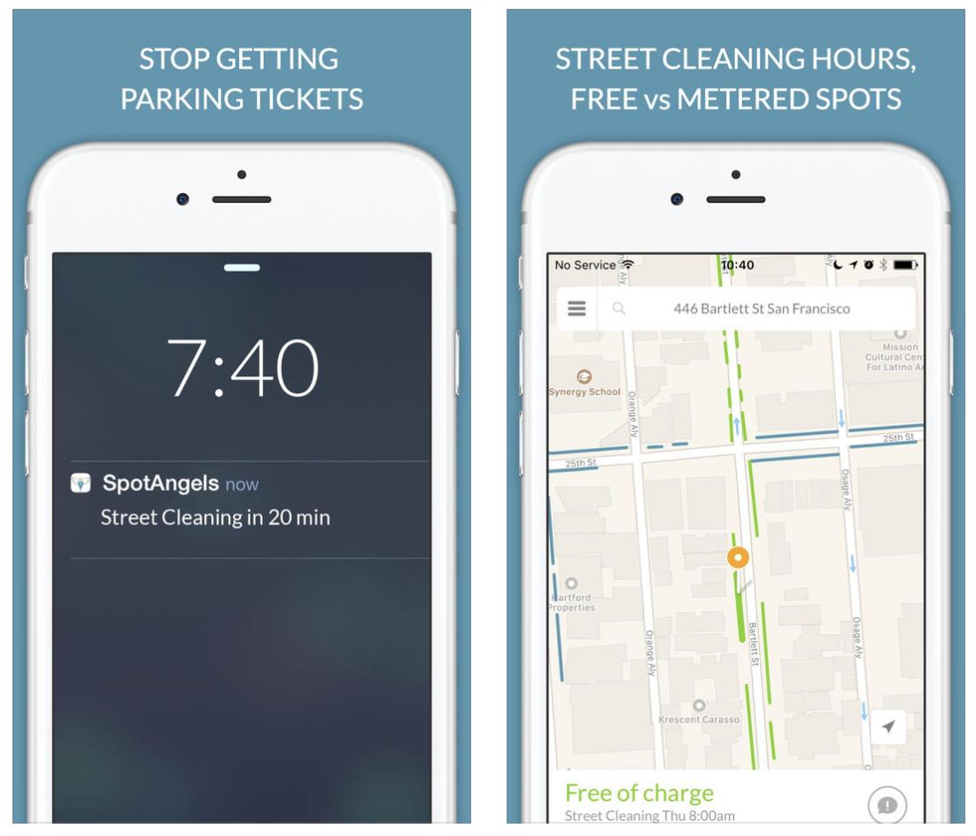 Aplikacja SpotAngels pomoże w znalezienie parkingu w Chicago