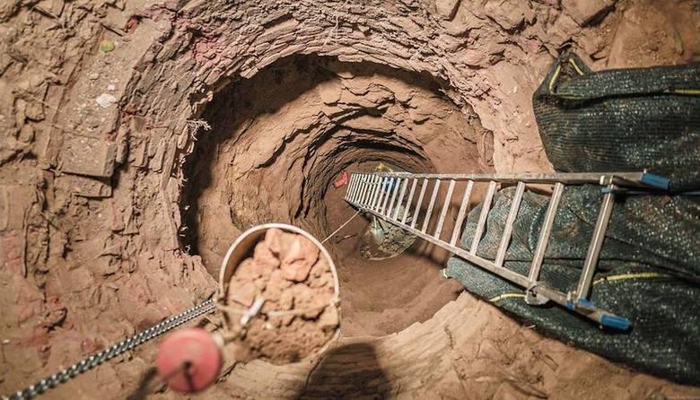 Złoty pociąg: Badają tajemniczą studnię w okolicach Książa