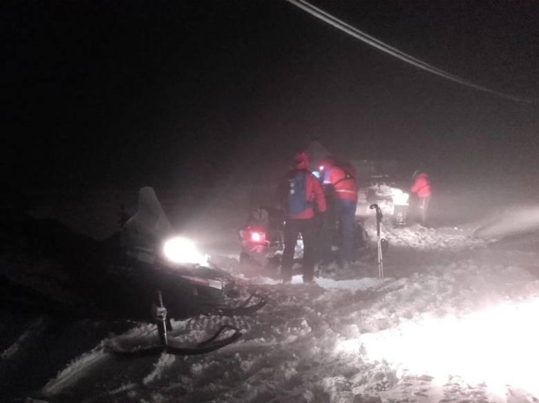 Sudety: Turyści zafundowali ratownikom górskim mnóstwo pracy w te święta