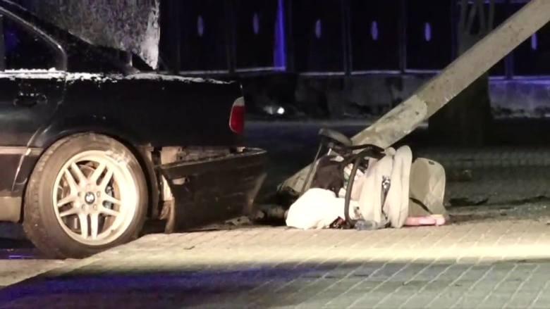 Dolny Śląsk: 20-latek w BMW wjechał w 6-osobową rodzinę. Zarzut spowodowania katastrofy w ruchu lądowym