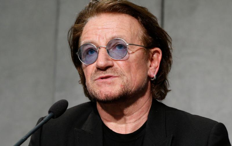 Bono wygłosi przemówienie na temat AIDS