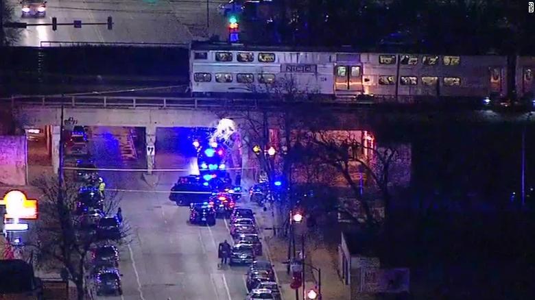 Dwóch policjantów zginęło potrąconych przez pociąg w Chicago