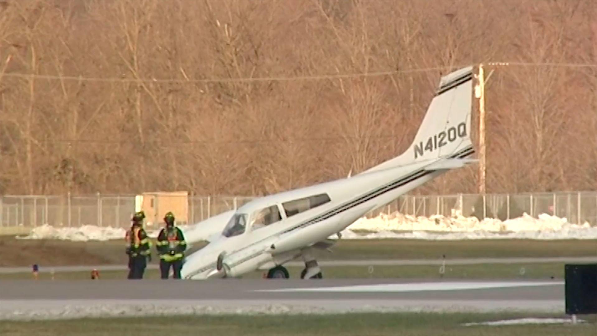 Cessna awaryjnie lądowała w Wheeling