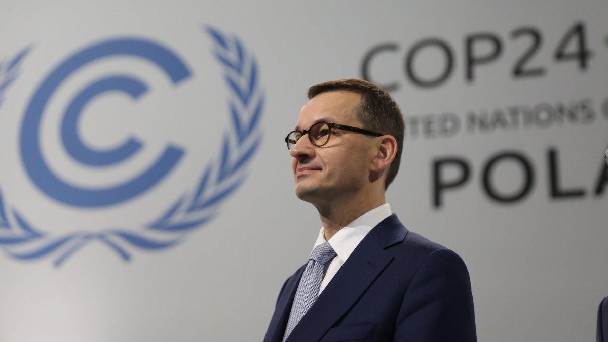 Mateusz Morawiecki na szczycie klimatycznym: Redukcja emisji jest zobowiązaniem szczególnie dla największych państw