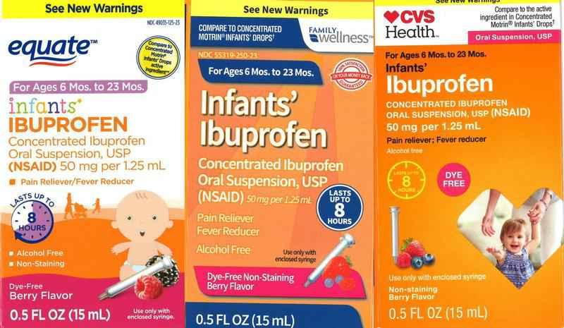USA: Tris Pharma wycofuje ze sprzedaży lekarstwo z Ibuprofenem dla dzieci