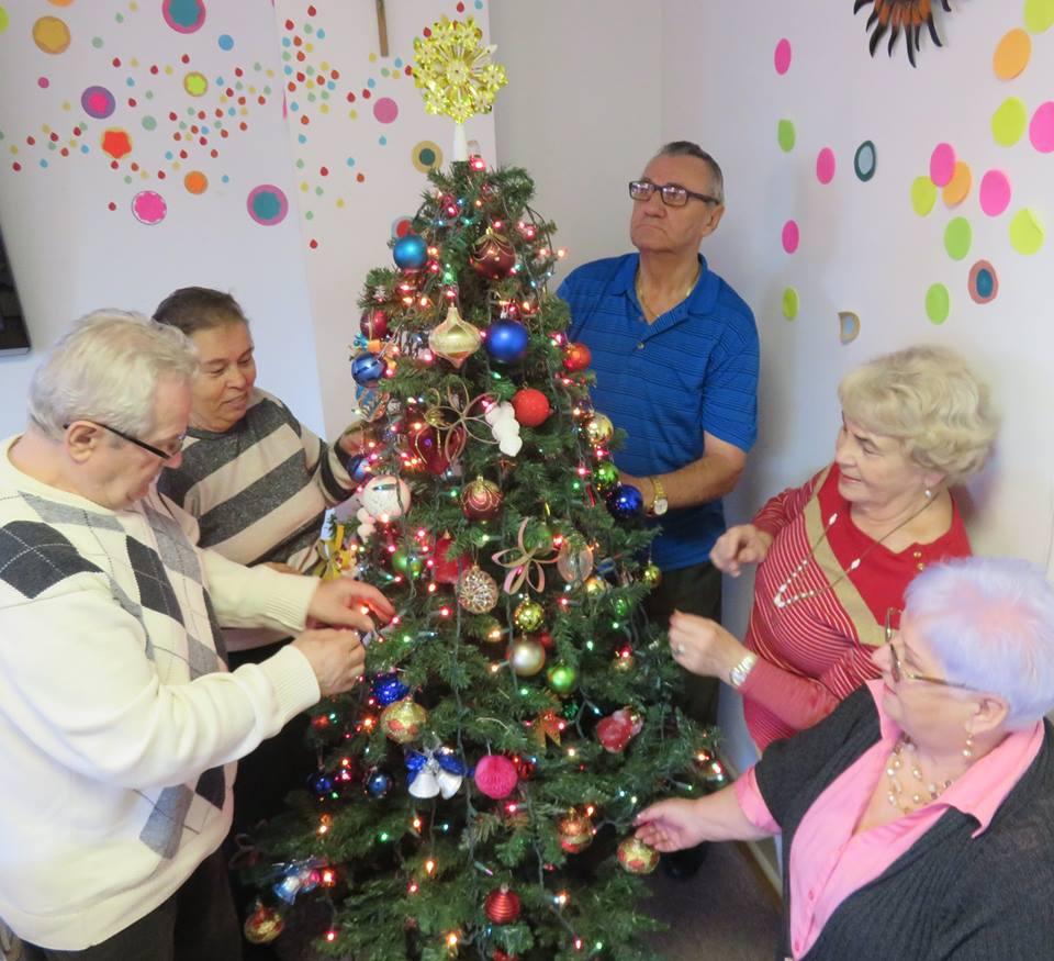 Świąteczny nastrój w Klubie Seniora Amber na Greenpoincie