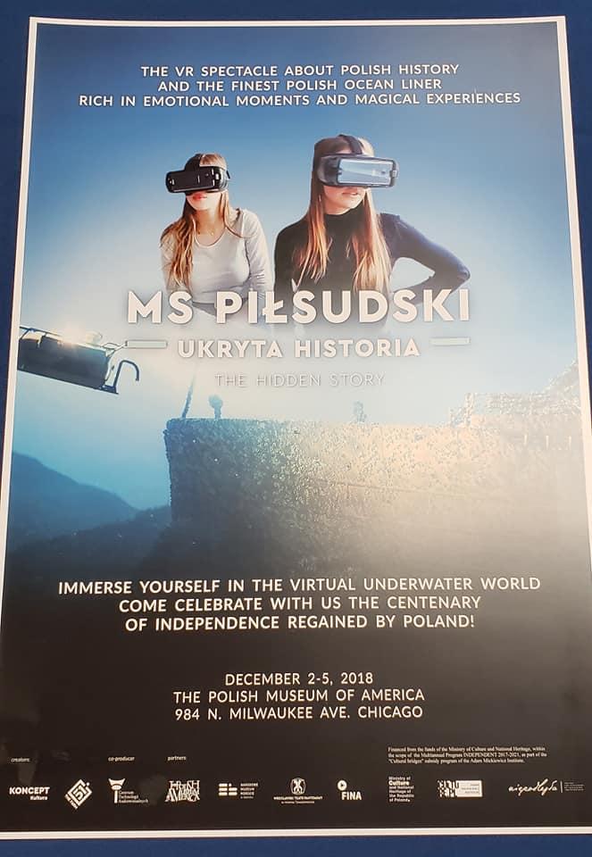 """MS. PILSUDSKI – Ukryta Historia"""".  Wirtualna wystawa w formacie 3D"""
