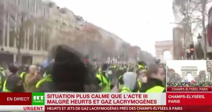 """Le Figaro: Władze badają możliwość rosyjskiej ingerencji w protest """"Żółtych kamizelek"""""""