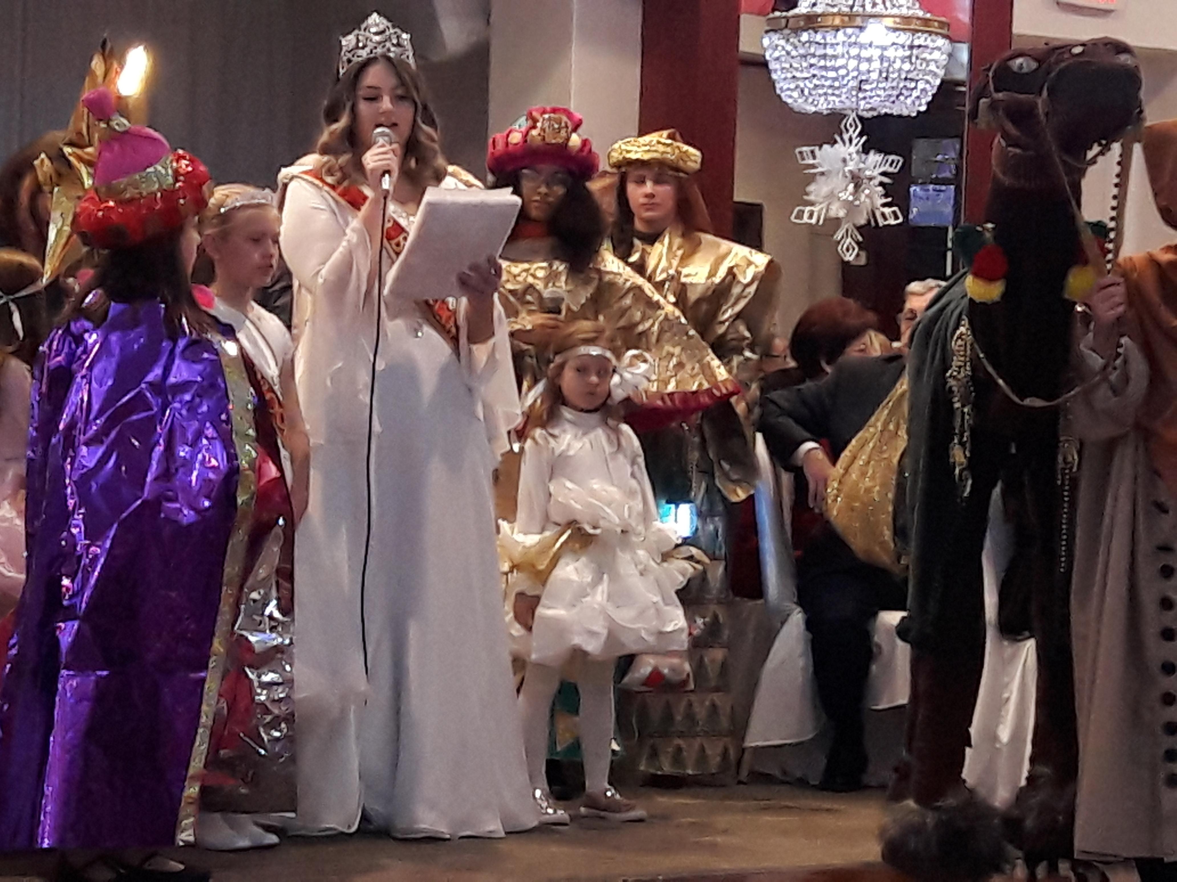 Bożonarodzeniowy spektakl w Kole Przyjaciół Fundacji Jana Pawła II w Nowym Jorku