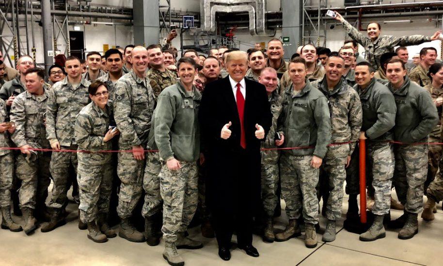 Niemcy: Niespodziewana wizyta Donalda Trumpa w bazie wojsk amerykańskich w Ramstein
