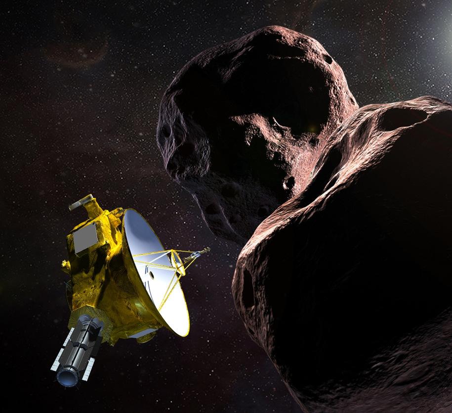 Nowy kosmiczny rekord: Sonda New Horizons przeleciała obok najbardziej odległej od Ziemi planetoidy Ultima Thule