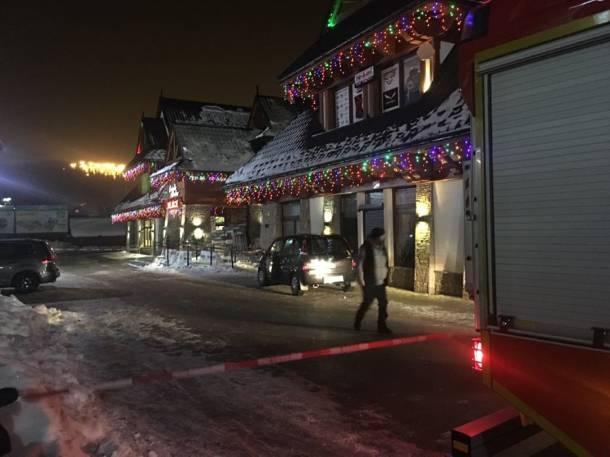Podhale: Ewakuowano centrum handlowe w Białce Tatrzańskiej. Grozi mu zawalenie?
