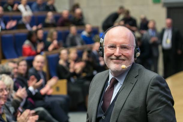 Timmermans o ewentualnej współpracy z Wojciechowskim w nowej KE