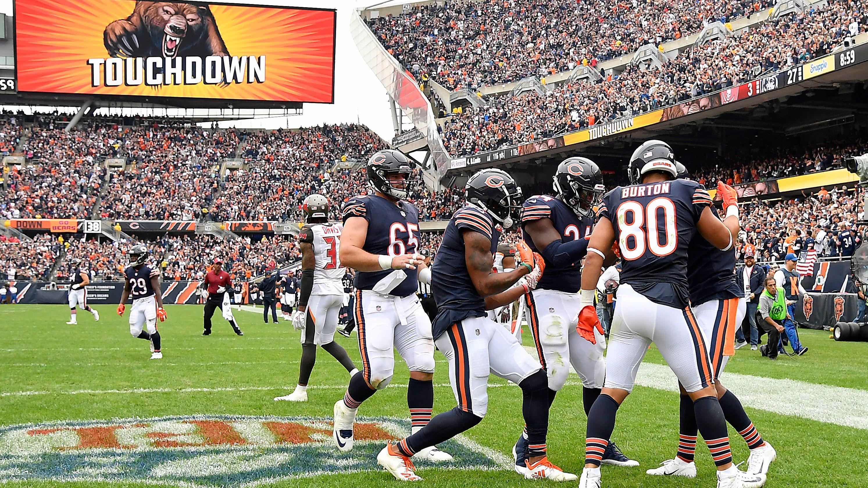 Drożeją bilety na niedzielny mecz Chicago Bears