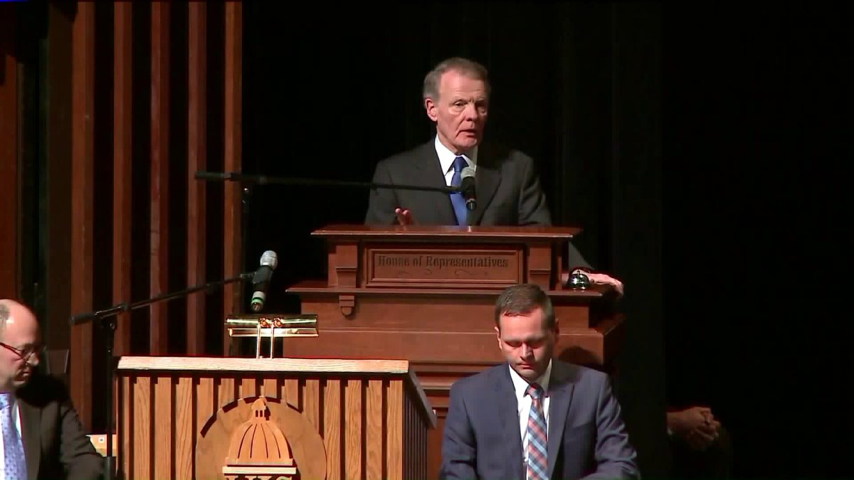 Michael Madigan ponownie wybrany na przewodniczącego Izby Reprezentantów Illinois