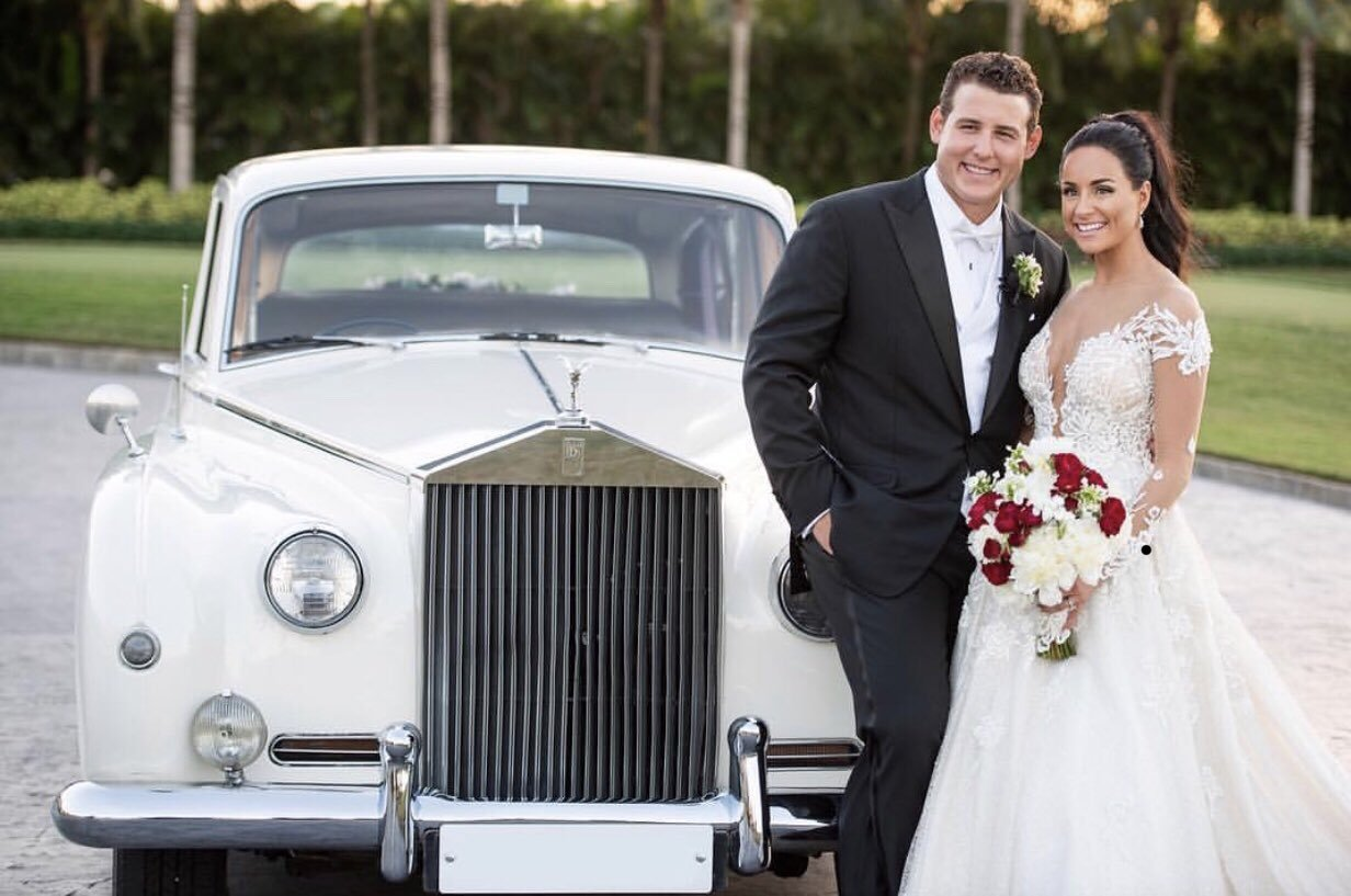 Anthony Rizzo ożenił się z Emily Vakos