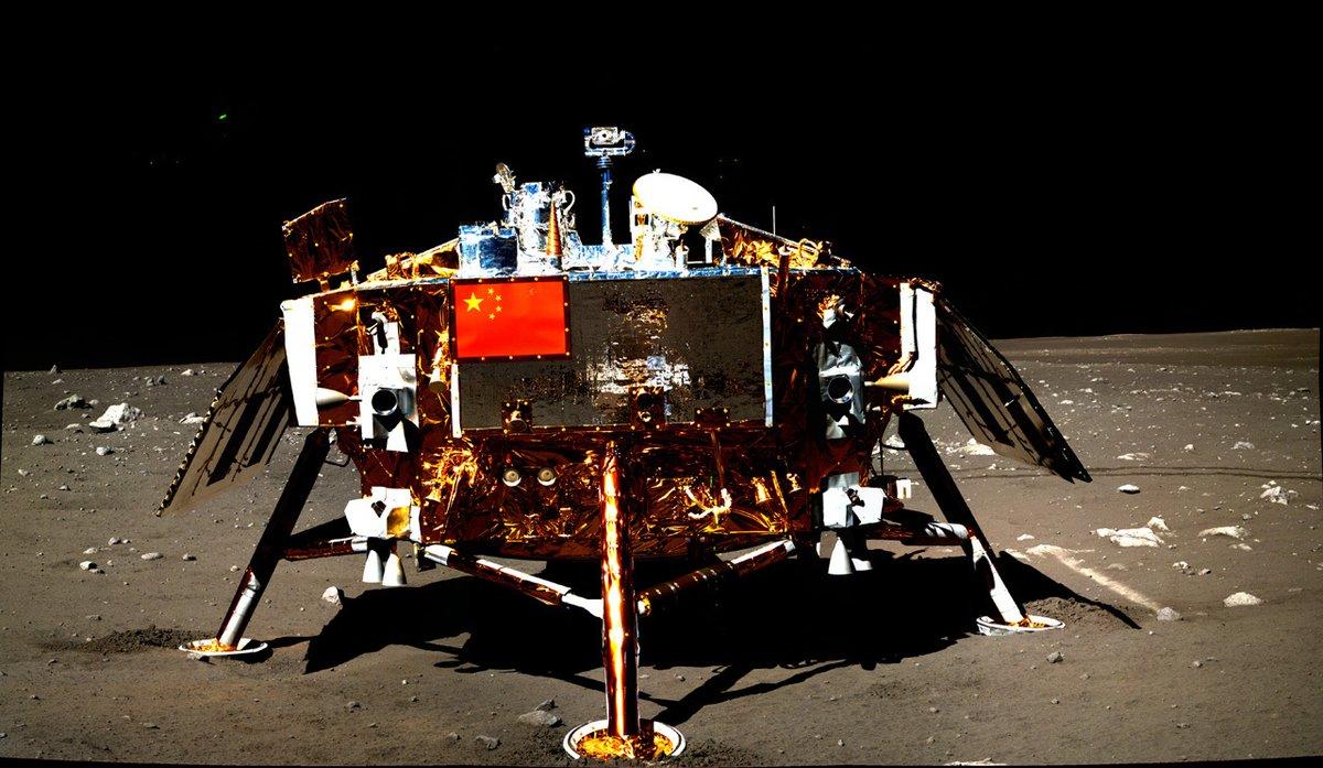Sonda Change'4 przesłała zdjęcia niewidocznej strony Księżyca