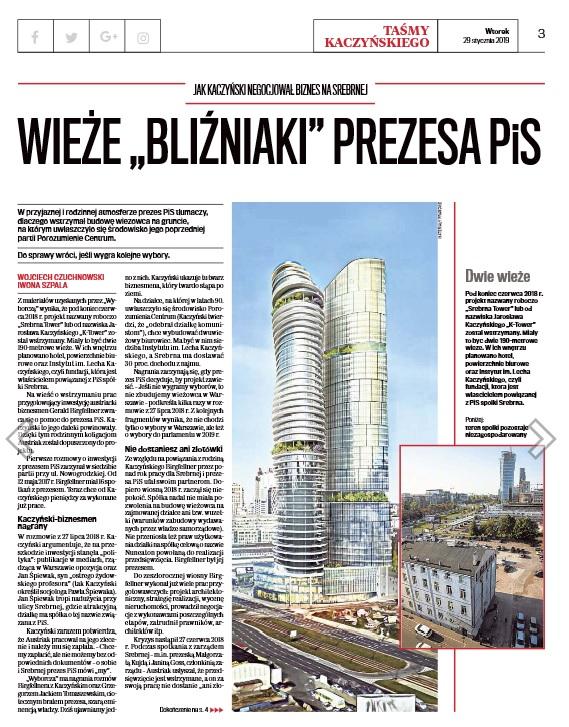Przesłuchanie Geralda Birgfellnera, który oskarżył Kaczyńskiego o próbę oszustwa i domaga się 40 milionów złotych za nieopłaconą fakturę