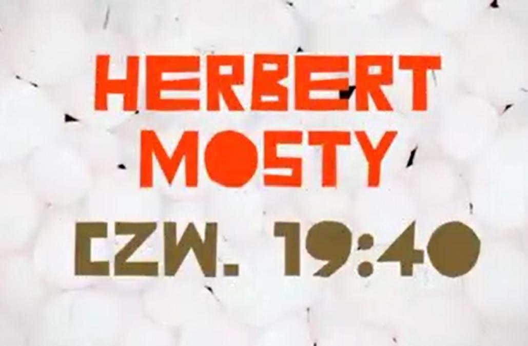 "Nowy program TVP Kultura ""Herbert – Mosty"""