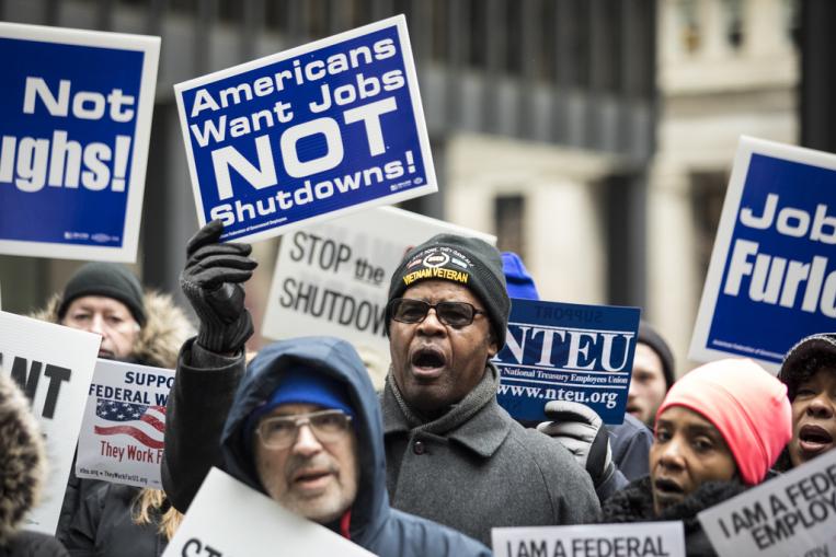 Protest pracowników administracji federalnej