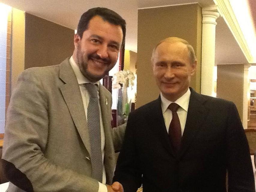 Sojusz Prawa i Sprawiedliwości z eurosceptyczną Ligą Matteo Salviniego? Na przeszkodzie zbyt bliskie stosunki Salviniego z Putinem