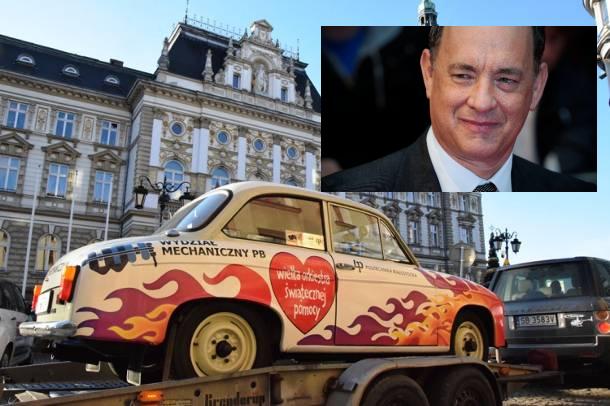 Tom Hanks ma już Syrenę! Zabytkowe auto po remoncie trafi na licytację
