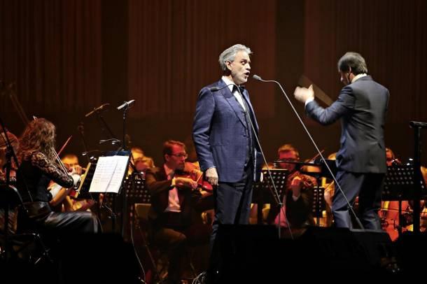 Andrei Bocellemu w Poznaniu będzie towarzyszyła orkiestra Teatru Muzycznego