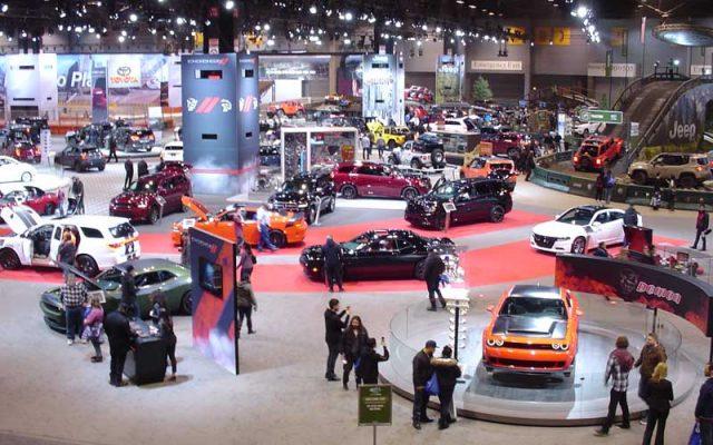 W McCormick Place rozpoczyna się 111. Chicago Auto Show