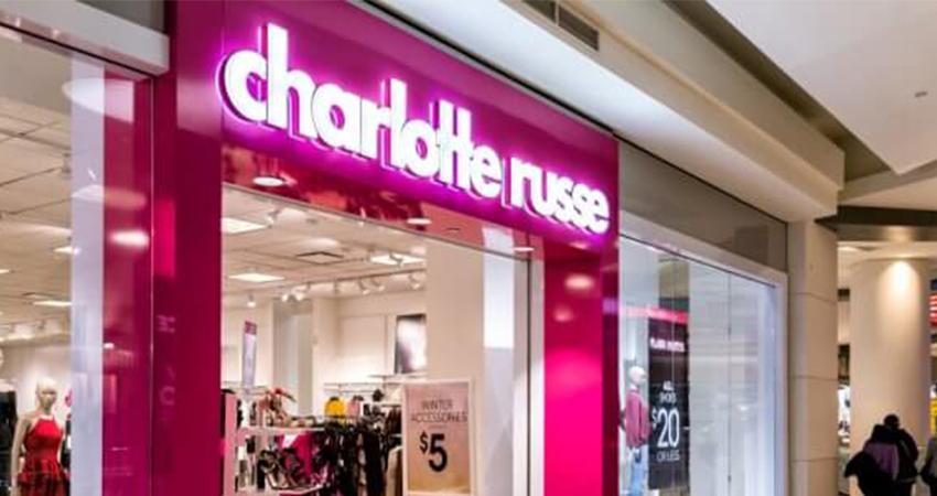 Sklepy Charlotte Russe  bankrutują