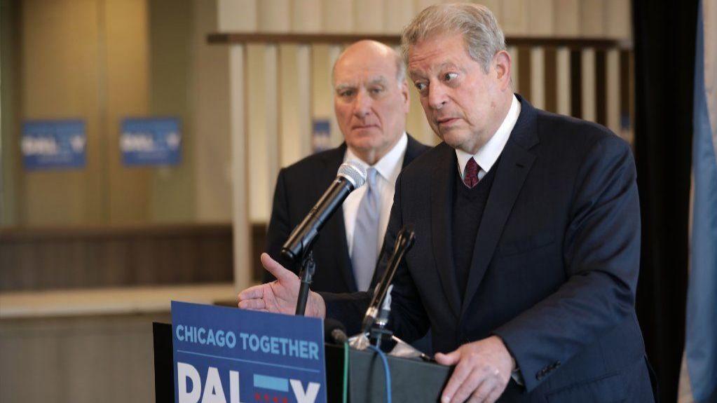 Były wiceprezydent Al Gore poparł Billa Daley'ego