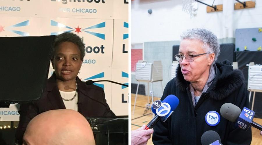 Lori Lightfoot i Toni Preckwinkle zmierzą się w drugiej turze o stanowisko burmistrza Chicago