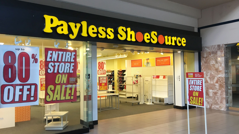 Sklepy Payless Shoe bankrutują