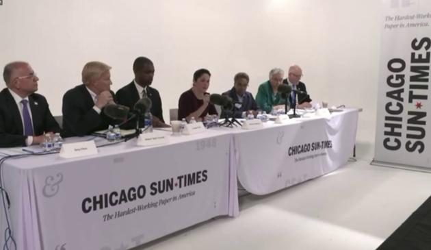 Burzliwa debata kandydatów na burmistrza Chicago