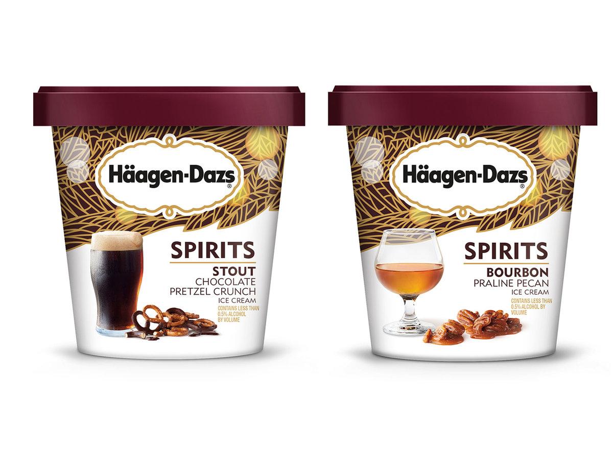 Häagen-Dazs rozpoczyna produkcję lodów z alkoholem