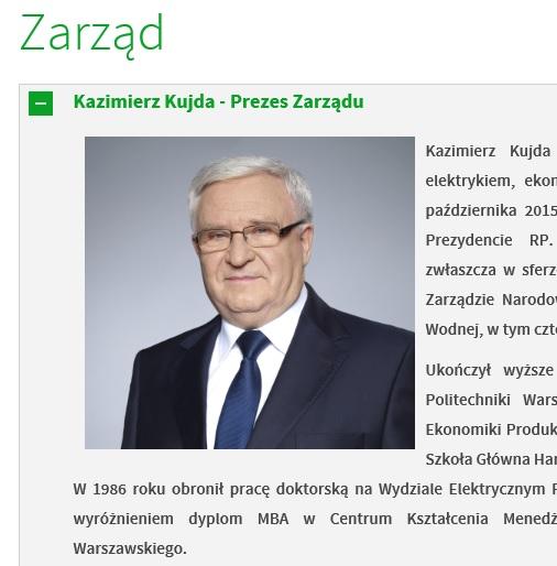 Kazimierz Kujda jest problemem dla PiS-u. Prezes Narodowego Funduszu Ochrony Środowiska podejrzany o współpracę z SB