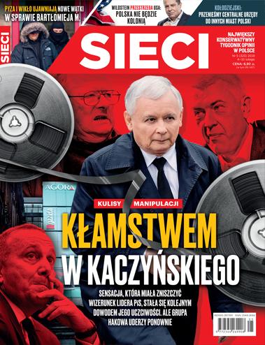 Prezes PiS o taśmach: Bezczelna manipulacja!