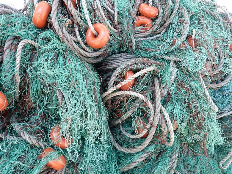 Aż 800 ton zużytych sieci może zalegać w Bałtyku